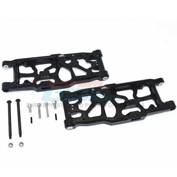 GPM Racing Aluminum Rear Lower Arms Black : 1/5 KRATON / OUTCAST 8S BLX
