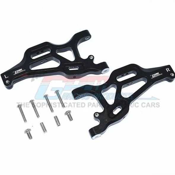 GPM Racing Aluminum Front Lower Arms Black : 1/7 Mojave 6S BLX