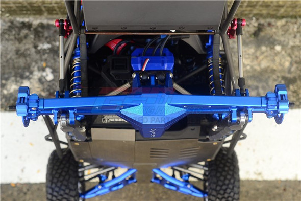GPM Aluminum Rear Axle Housing Without Carrier Red : Unlimited Desert Racer