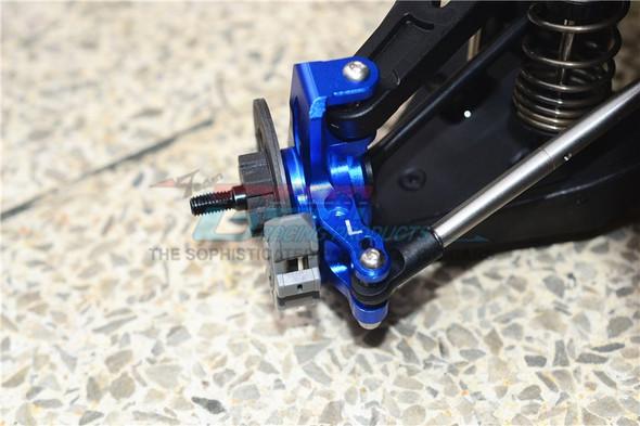GPM Alum Frt Upper & Low Arms+Knuckle Arms+Harden Stl CVD Drive Shaft Orange : UDR