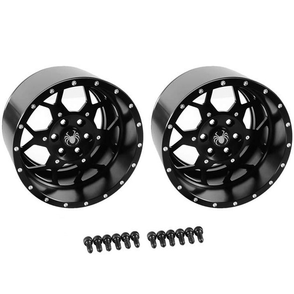 "RC4WD Z-W0143 Huntsman Spider 40 Series 3.8"" Universal Beadlock Wheel (2)"