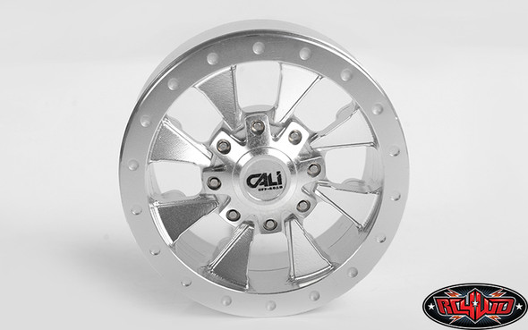 "RC4WD Z-W0295 Cali Off-Road Distorted 1.9"" Beadlock Wheels (4)"