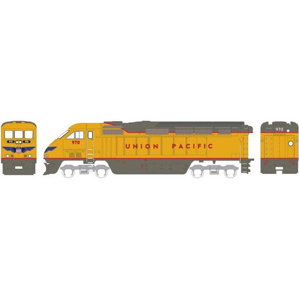 Athearn ATH15370 F59PHI Union Pacific #970 Locomotive w/ DCC & Sound N Scale