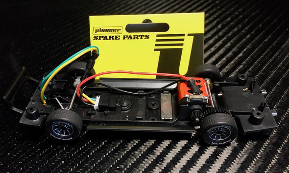 Pioneer CH200310 DPR Ready RTR General Lee Charger Chassis 1/32 Slot Car