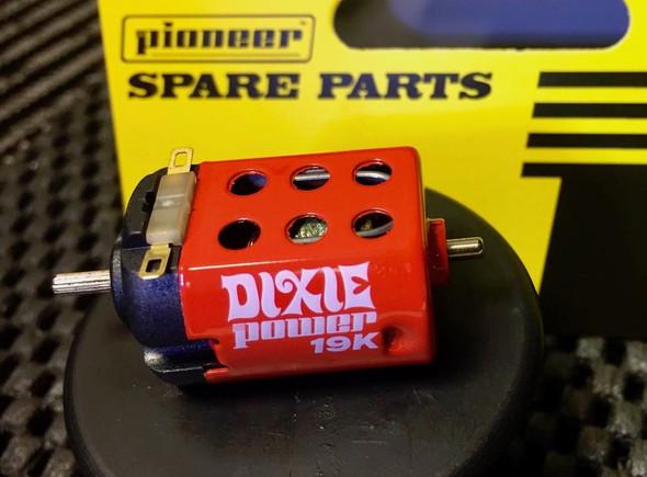 Pioneer MT200232 Dixie Power Motor 19000 RPM at 12vDC 1/32 Slot Car