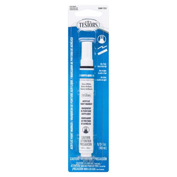 Testors 286133 Acrilic Paint Marker Gloss White