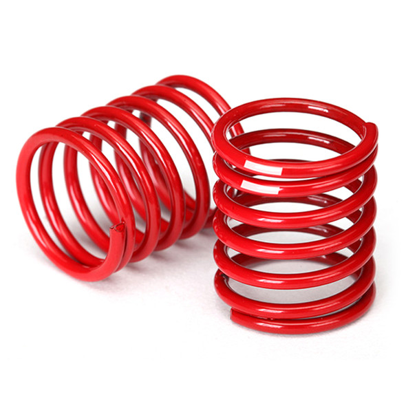 Traxxas 8366 Spring Shock Red / 2.8 Rate White Stripe (2) : 4-Tec / Ford GT
