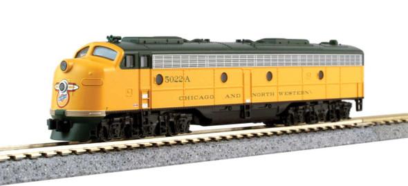 Kato 106104DCC C&NW EMD E8A & Pullman Bi-Level 400 Train Chicago & North Western N Scale