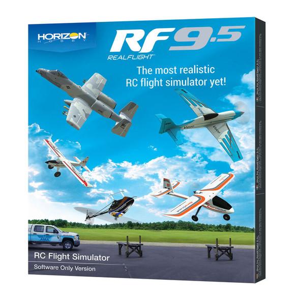RealFlight RFL1201 Horizon Hobby 9.5 Flight Simulator Software Only