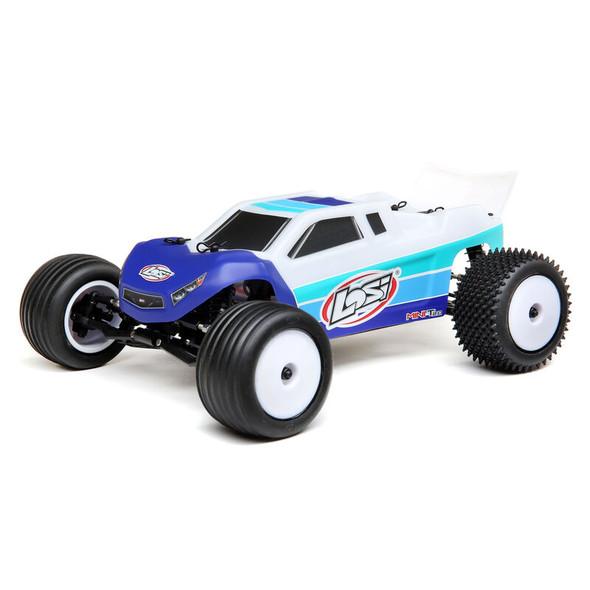 Losi LOS01019T2 1/18 Mini-T 2.0 2WD Stadium Truck Brushless RTR Blue