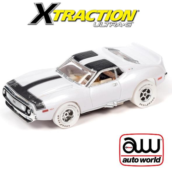 Auto World Xtraction R30 1971 AMC Javelin iWheels HO Scale Slot Car