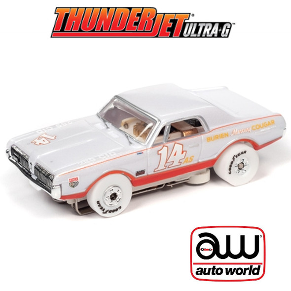 Auto World Thunderjet R30 1967 Mercury Cougar iWheels HO Scale Slot Car