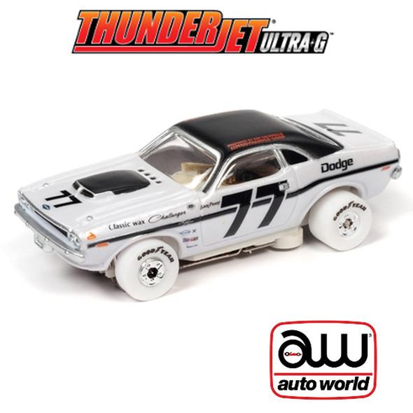 Auto World Thunderjet R30 Sam Posey 1970 Dodge Challenger T/A iWheels HO Slot Car