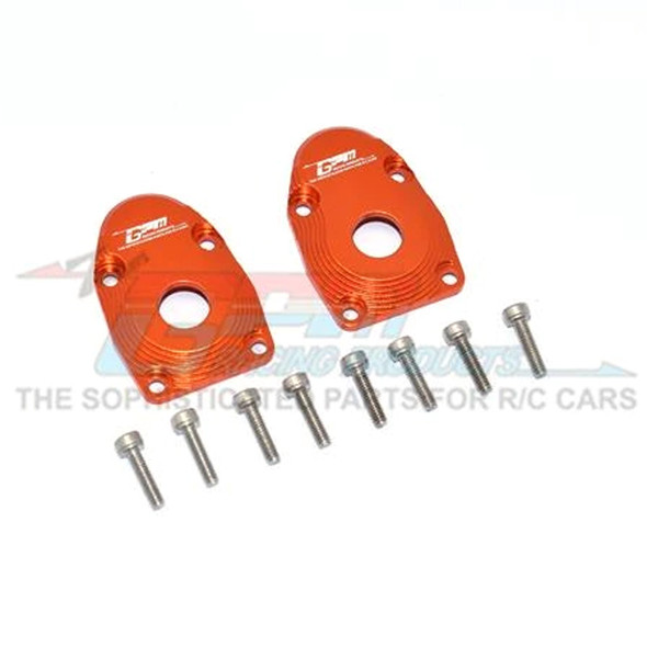 GPM Alum Outer Portal Drive Housing Front Or Rear Orange : SCX10 III / Capra 1.9