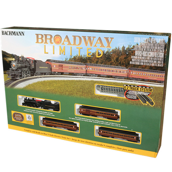 Bachmann 24026 The Broadway Limited Train Set : N Scale