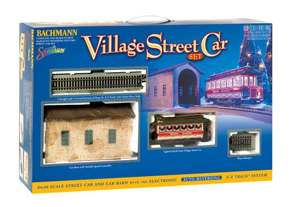 Bachmann 25017 Christmas Street Car Train Set : On30 Scale