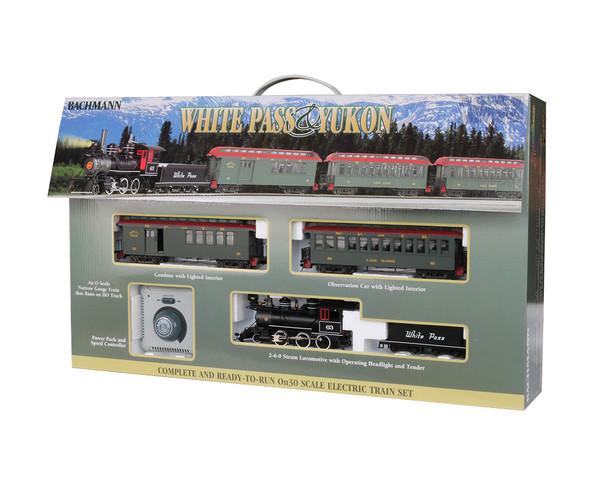 Bachmann 25024 White Pass & Yukon Train Set : On30 Scale