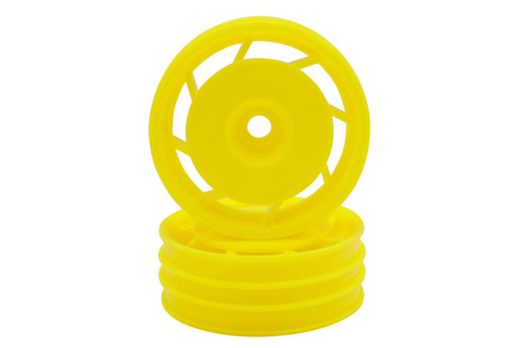 Kyosho UTH001Y 8D Front Wheel 50mm Yellow (2pcs) Ultima