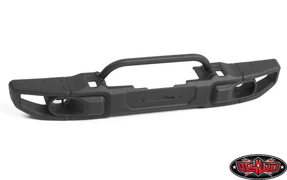 RC4WD OEM Wide Front Winch Bumper w/ Steering Guard : SCX10 III Jeep JLU Wrangler (B)