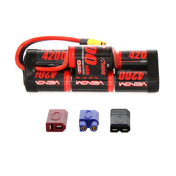 Venom 1546-7 8.4V 4200Mah 7-cell NiMH Battery Hump Pack w/ Universal Plug