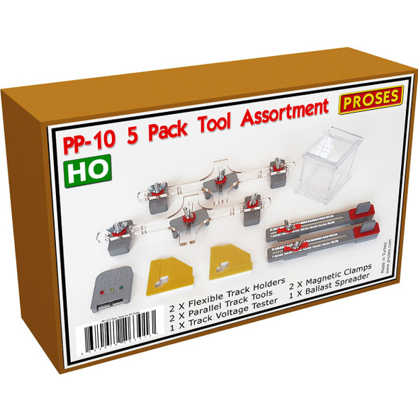 Bachmann 39029 PP-10 Track Tool Assortment HO Scale