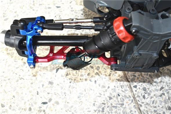 GPM Racing Aluminum Rear Lower Arms Black : 1/10 Kraton 4S BLX