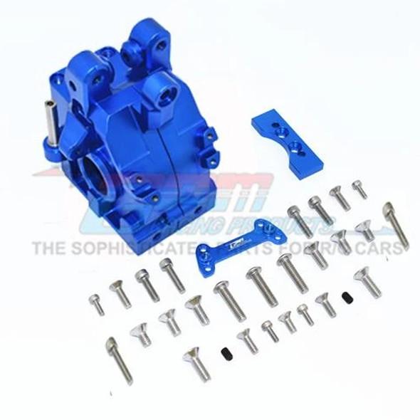 GPM Racing Aluminum Front Gear Box Blue : 1/5 Kraton & Outcast  8S BLX