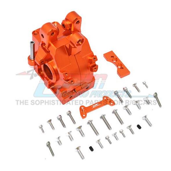 GPM Racing Aluminum Front Gear Box Orange : 1/5 Kraton & Outcast  8S BLX