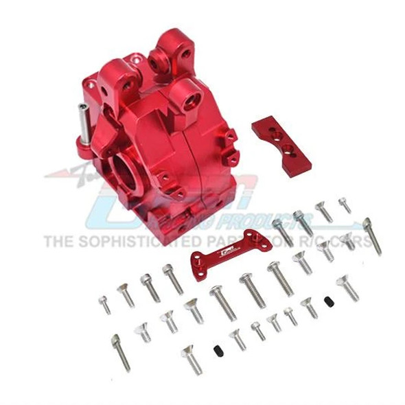 GPM Racing Aluminum Front Gear Box Red : 1/5 Kraton & Outcast  8S BLX