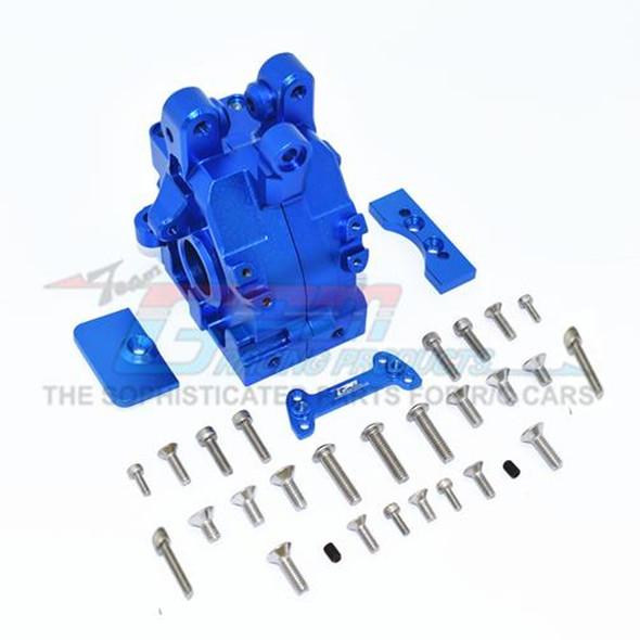 GPM Racing Aluminum Rear Gear Box Blue : 1/5 Kraton & Outcast  8S BLX