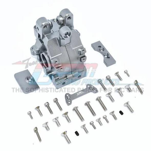 GPM Racing Aluminum Rear Gear Box Grey : 1/5 Kraton & Outcast  8S BLX
