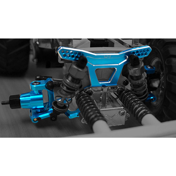 Yeah Racing TAWR-006BU Aluminum Front Knuckle Arm Set For TAWR-S01