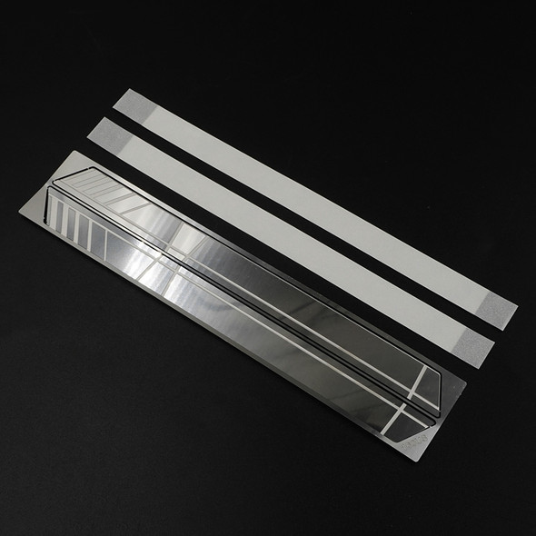 Yeah Racing TRX4-094 Stainless Steel Door Anti Scratch Plate : TRX-4 / TRX-6