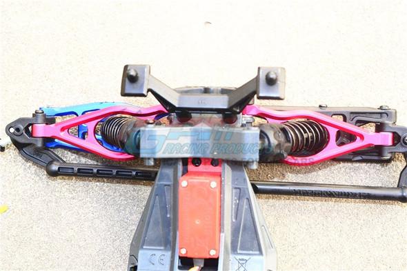 GPM Racing Aluminum Front Upper Suspension Arm Blue : Arrma Fazon Voltage