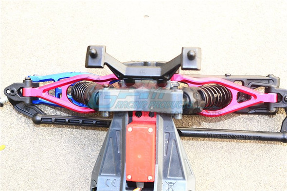 GPM Racing Aluminum Front Upper Suspension Arm Brown : Arrma Fazon Voltage