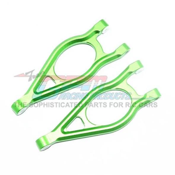 GPM Racing Aluminum Front Upper Suspension Arm Green : Arrma Fazon Voltage