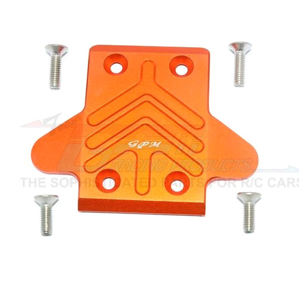 GPM Alum Front Chassis Protection Plate Orange : Senton/Outcast/Notorious 6S BLX