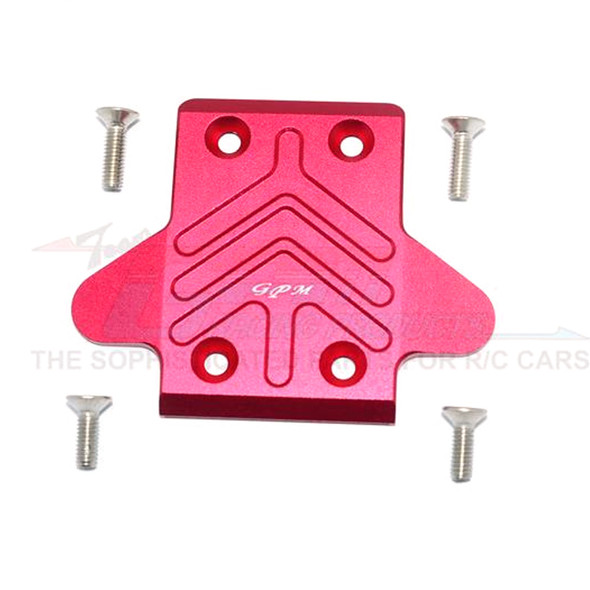 GPM Alum Front Chassis Protection Plate Red : Senton/Outcast/Notorious 6S BLX