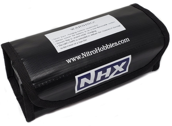 NHX Fireproof Lipo Battery Safety Charge Sack Bag 185x75x60mm
