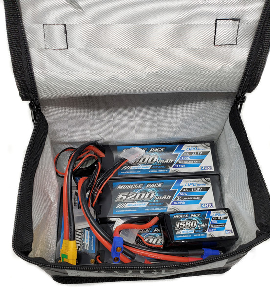 NHX Fireproof Multi Lipo Safe Charging / Storage Bag 198x150x135mm