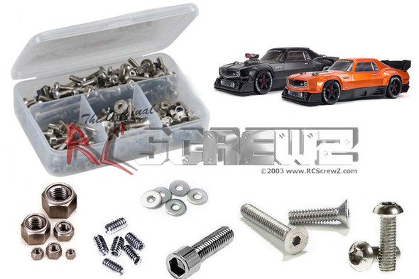 RC Screwz ARA035 Arrma Felony 6S BLX 1/7th (ARA7617V2) Stainless Steel Screw Kit