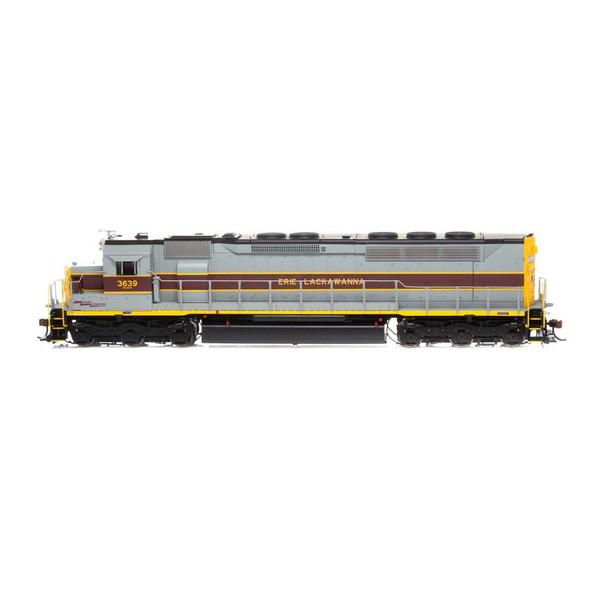 Athearrn ATHG03639 Erie Lackawanna SDP45 w/DCC & Sound #3639 Locomotive HO Scale