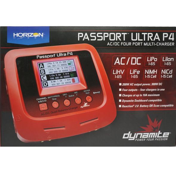 Dynamite DYNC3018 Passport Ultra P4 AC/DC Four Port Multi-Charger