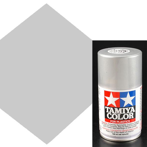 Tamiya TS-76 Mica Silver Lacquer Spray Paint 3 oz