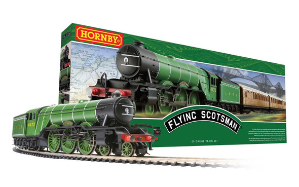 Hornby R1255M Flying Scotsman Train Set OO Scale