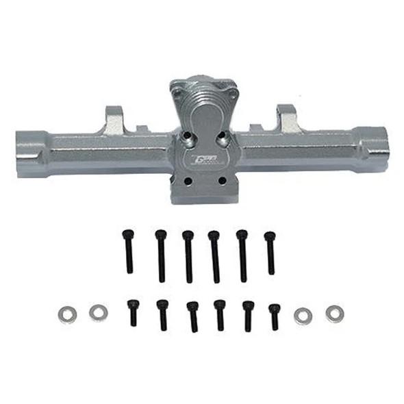 GPM Aluminum Rear Gear Box Grey : Axial 1/24 SCX24 Deadbolt / Jeep Wrangler