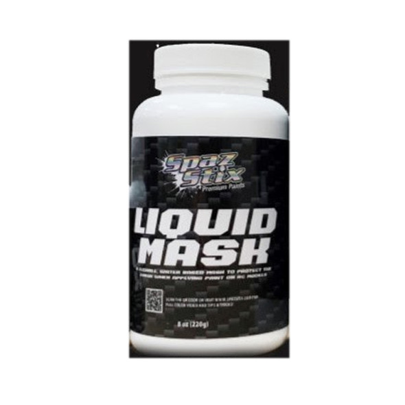 Spaz Stix SZX00008 Water Base Liquid Mask 8 oz.