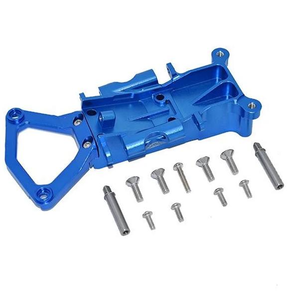 GPM Racing Aluminum Front Gear Box Case Blue : Traxxas XO-01 Supercar