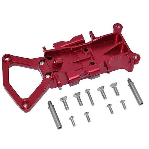 GPM Racing Aluminum Front Gear Box Case Red : Traxxas XO-01 Supercar