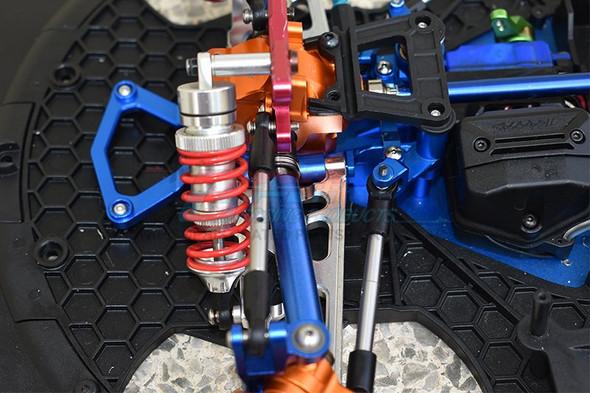GPM Racing Aluminum Front Gear Box Case Silver : Traxxas XO-01 Supercar